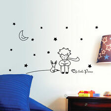 Removable The Little Prince Fox Vinyl Wall Sticker Kids Nursery Room Decor Mural
