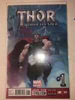 Thor God of Thunder #1 Marvel Comics Jason Aaron Gorr the God Butcher Old Thor