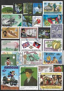 Antigua & Barbuda Used Selection $72.95 SCV