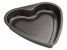 Black Carbon Non-stick Steel Heart Shaped Baking Mould Tray Cake Tins