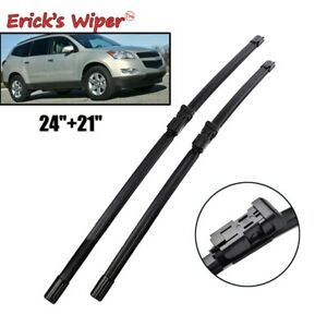 "24"" 21"" Front Windshield Wiper Blades Fits For Chevrolet Traverse 2009 2010 2011"