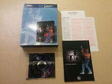 Fade to Black - PC  Big Box, Manual & Disc