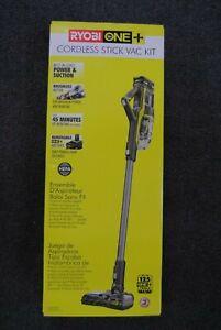 Ryobi ONE+ P7181K Cordless Stick Vacuum Cleaner Kit BRAND NEW