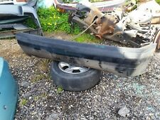 bmw 323i e36 rear bumper and reinforcment reo black
