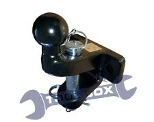 Maypole MP87 Ball and Pin Towing Hitch - Black