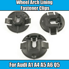 10x Wheel Arch Lining Fastener Washer Splash Guard Clips For Audi A1 A4 A5 A6 Q5