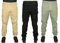 Jack & Jones Mens Cuffed Joggers Denim Trousers Pants Regular Fit Jeans