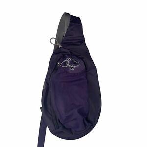 Osprey Daylite Shoulder Sling Bag Backpack Purple