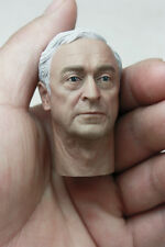 Custom Michael Caine 1/6 Head Sculpt for Hot Toys Alfred Body in stock