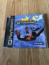 Skydiving Extrene Ps1 Sony PlayStation One 1 Black Label Game BT1