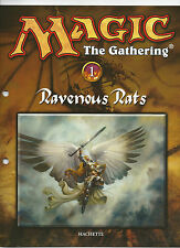 Salvat Hachette MTG Magic the Gathering partworks English printing inserts