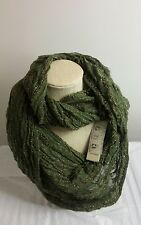 Collection Eighteen Women's Infinity Loop Scarf Army Green