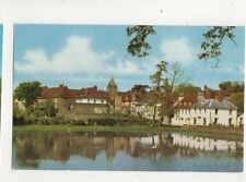 South Pond Midhurst Sussex 1960s Salmon Postcard 429b