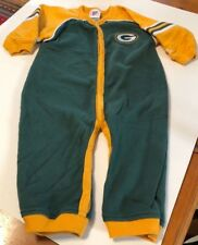 Toddler 18 Mos Green Bay Packers NFL One Piece Romper