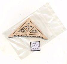 Apex Trim APX-5  Gable Roof  miniature dollhouse 1pc wood 1/12 scale NE1235
