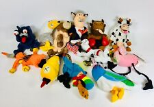 Huge Meanies Plush Lot WITH TAGS