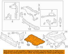Scion TOYOTA OEM FR-S Splash Shield-Under Engine / Radiator Cover SU00301383