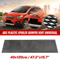 40x120cm ABS Car Honeycomb Mesh Grill Net Spoiler Front Bumper Vent Universal /