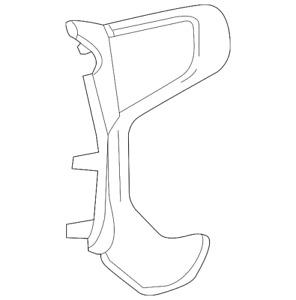 OEM NEW 2014-2020 GM Chevrolet GMC Steering Wheel Spoke Cover Synthesis 22819570