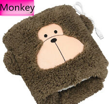 Cute Monkey Winter Usb Hand Warm Mouse Pad Heated Laptop Mousepad Wrist Rests