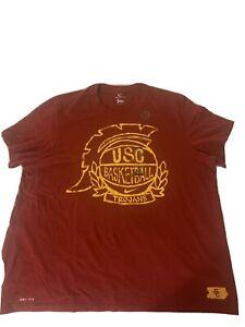 Nike USC Trojans Basketball T Shirt Tee Xxxl 3xl