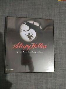 Sleepy Hollow Movie Trading Card Binder and Basic Set. VERY RARE
