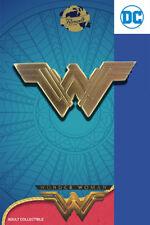 Wonder Woman logotipo-exclusivo coleccionista Collectors pin metal-DC Comics-nuevo