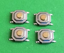 Set of 4 Micro Tactile Switches for Jaguar S X Type XJ XK XJR Remote Key Repair