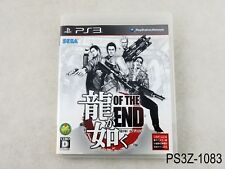 Ryu ga Gotoku Of the End Yakuza Dead Playstation 3 Japanese Import PS3 US Seller