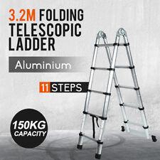 3.2M Multi-Purpose Aluminium Telescopic Extension Ladder
