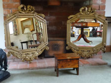 Wood Regency Antique Mirrors