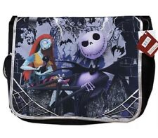 Nightmare Before Christmas Jack And Sally School Messenger Backpack (100%New)