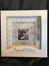 Framed Wishes Keepsake Frame Baby Girl