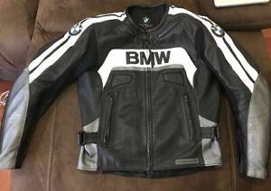 Mens BMW Motorcycle Jacket Leather Motorbike Racing Sport Biker Jacket Ce Armour