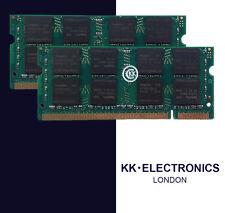 4GB 2x2GB RAM MEMORY FOR Dell Inspiron 15, 1520, 1521, 1525, 1535, 1545, 1546