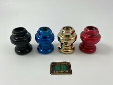 "NOS EPOCH MORI Old School BMX 1"" Headset Red Black Gold Blue NEW OLD STOCK 32.7"