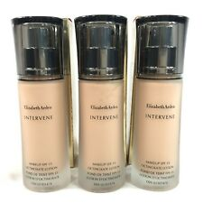 3x Elizabeth Arden Intervene Foundation Makeup Soft Creme 04 w/ SPF 15 30 ML A17