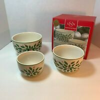 Lenox American By Design Holiday Nesting Bowls Set of 3