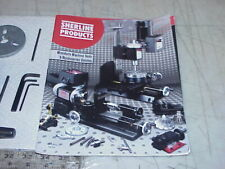 Sherline Mini Machine Tools & Accessories Catalog Assembly & Instruction Guide