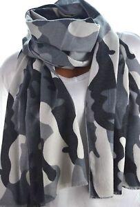 Weicher XXL Schal Wickeltuch mit Camouflage Muster 3 Farben NEU