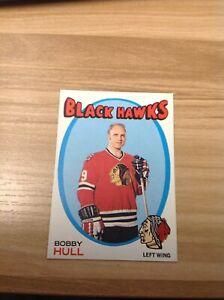 1971-72 Topps Hockey Card #50 Bobby Hull Chicago Black Hawks HOF See Pics Cond