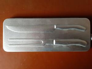 Laguiole Tranchierbesteck NEU zweiteilig in Metallschatulle
