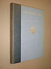 SWEDISH ART. KAHN LECTURES FOR 1929. JOHNNY ROOSVAL. 1932 1st EDITION. HARDBACK