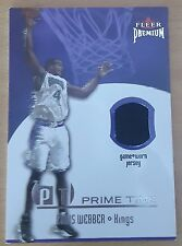 2002-03 Fleer Premium Prime Time Game Used #5 Chris WEBBER