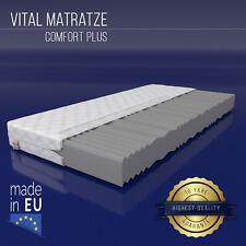 Matratze COMFORT Plus 90x200 cm 7 Zonen H2 Marken Schaumkern 16cm Kaltschaum NEU