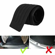Accessories Car Rubber Rear Guard Bumper Protector Trim Cover Black