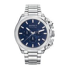 Esprit Collection Herren Uhr Armbanduhr Chrono Tityo Edelstahl EL102181006 NEU