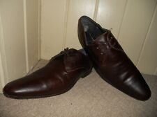 """TED BAKER Quality Leather Pointed toe Shoes size uk 10""""Eur 44"""