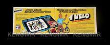 PUB / PUBLICITE ADVERTISING TINTIN HERGE  1975 - Vintage