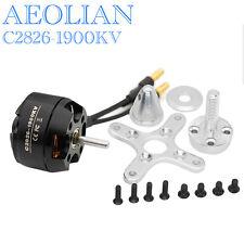 Aeolian outrunner brushless motor C2826 KV1900 motor for mini quadcopter plane